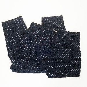2f0b850000c Eliane Rose Hearts Black Capri Pants Plus Size
